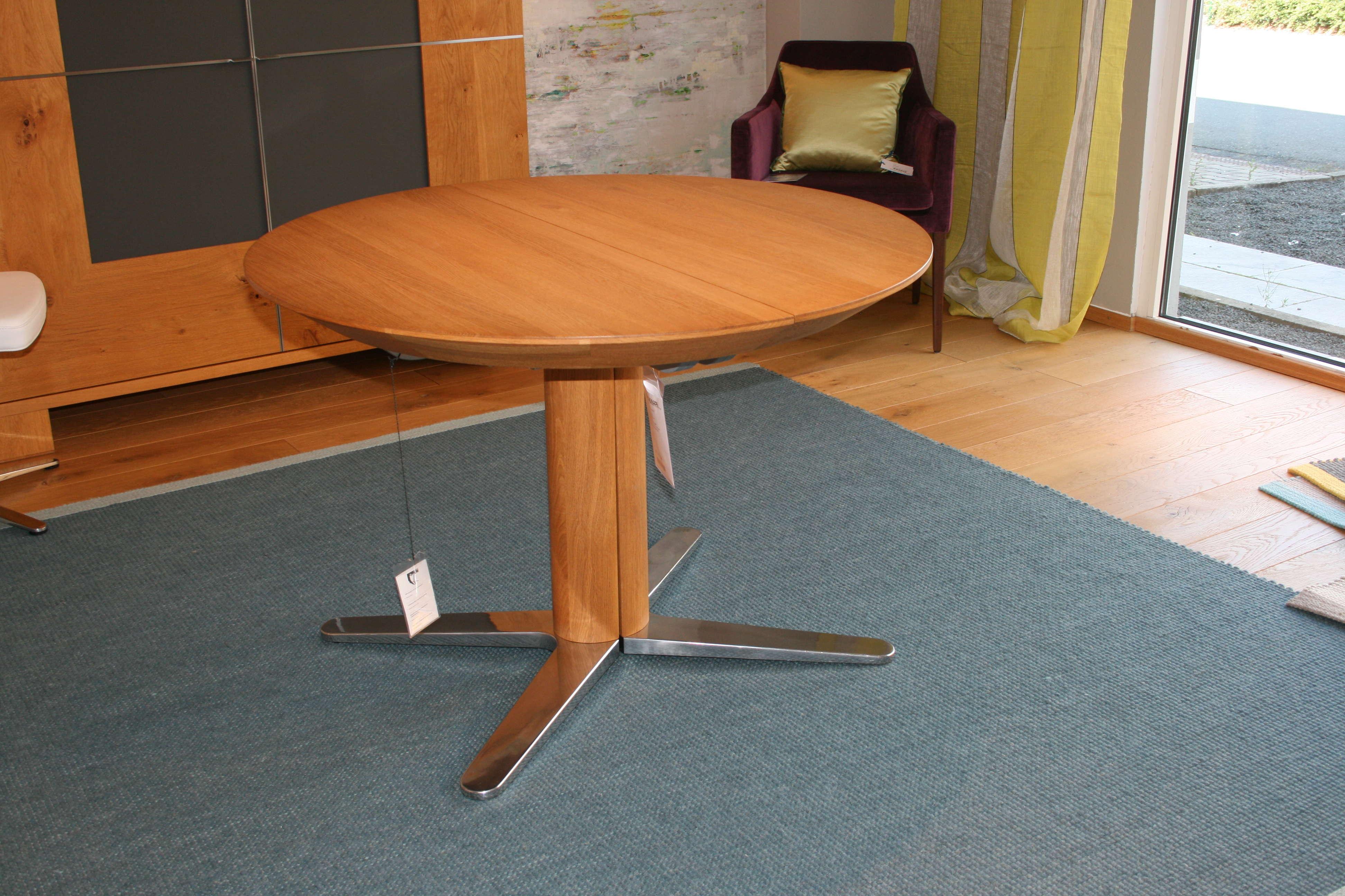 girado tisch rund von team7 tendenza. Black Bedroom Furniture Sets. Home Design Ideas